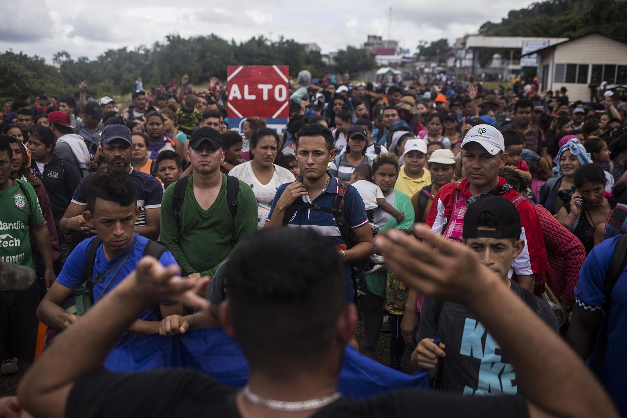 México engaña una vez más a la caravana centroamericana