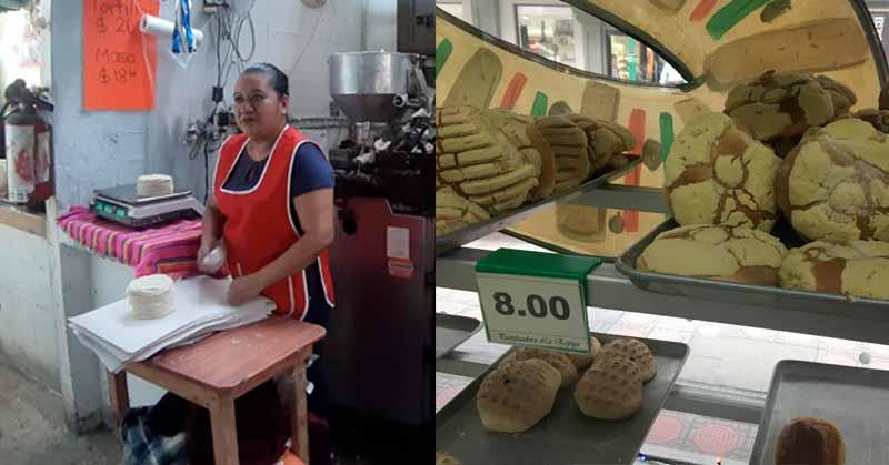 SUBE LA TORTILLA A $20 Y EL PAN DULCE A $8 EN TAMPICO