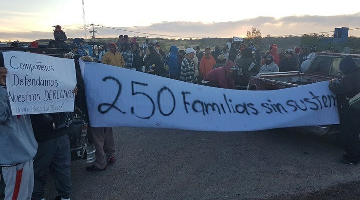 Protestan pepenadores contra privatizar reciclaje en Aguascalientes