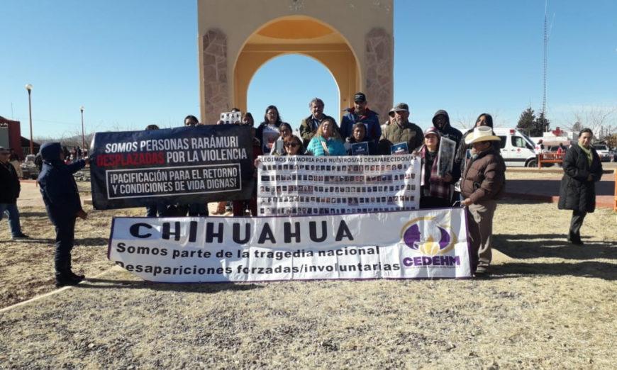 Víctimas de desplazamiento exigen una ley para atender a los afectados (Chihuahua)