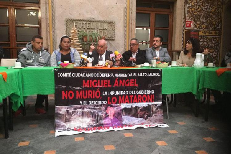 A 12 años de la muerte de Miguel Ángel, aún no hay reparación del daño (Jalisco)