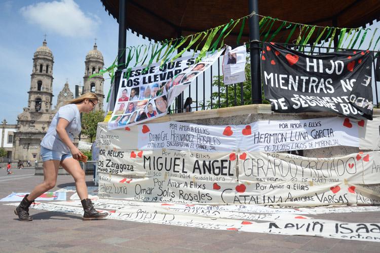 Reprochan que Alfaro minimice desapariciones en Jalisco