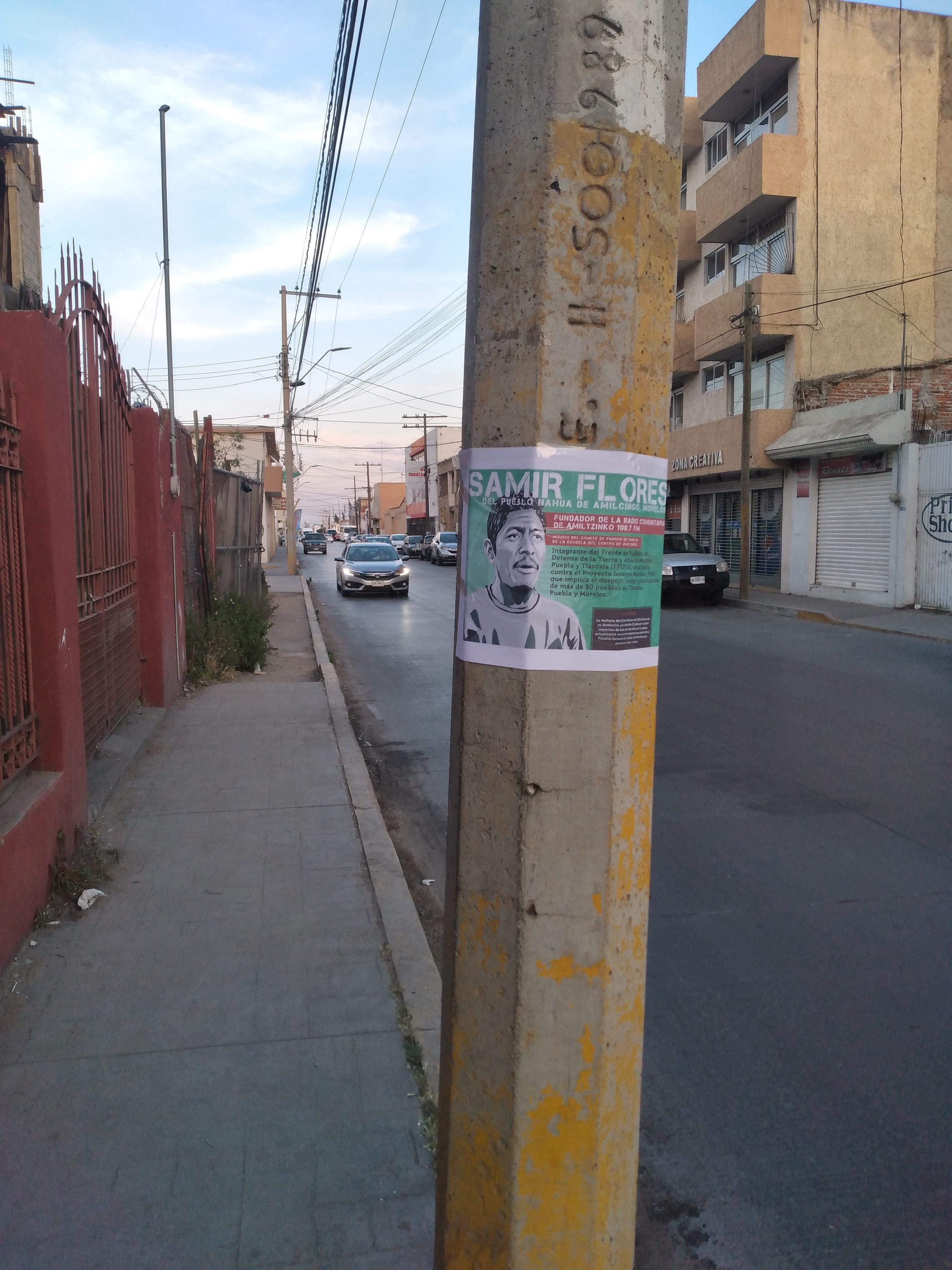 "Galería de fotos de acción dislocada en Fresnillo, Zacatecas. Jornadas ""Samir Somos Todas y Todos"""