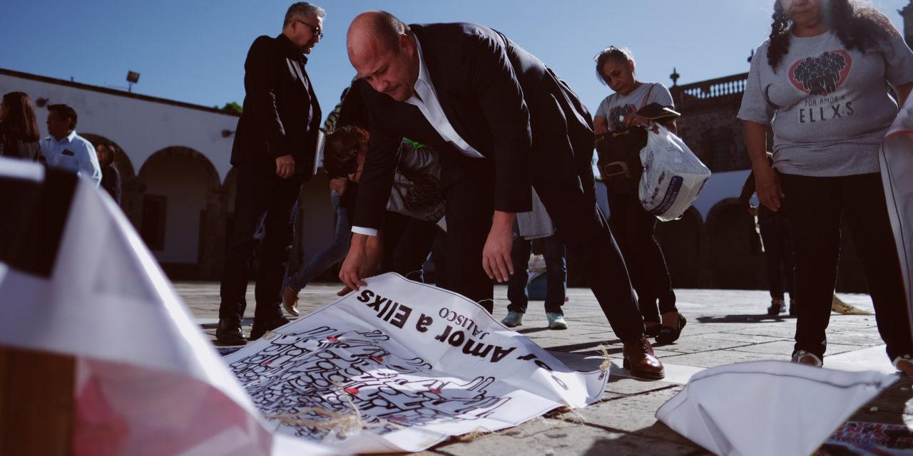 Gobernador de Jalisco sigue ignorando demandas de colectivos de familiares de desaparecidos