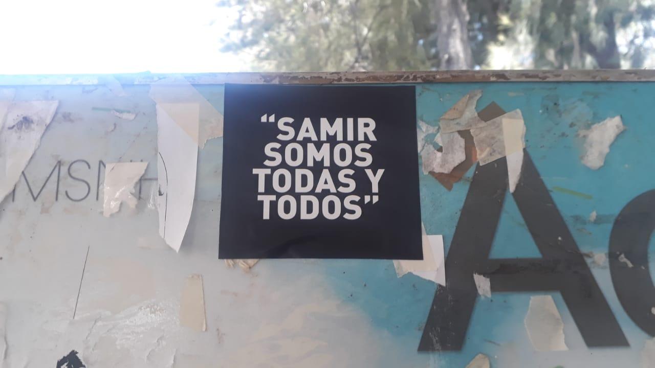 """Galería de fotos de acción dislocada en Morelia. Jornadas """"Samir Somos Todas y Todos"""""""