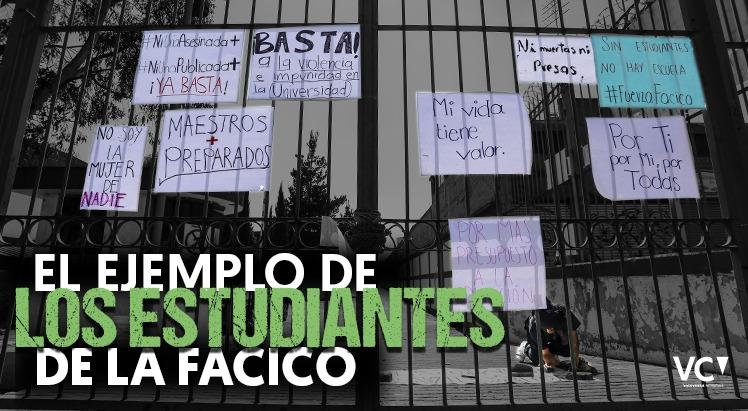 El ejemplo de las estudiantes de la FaCiCo (Estado de México)