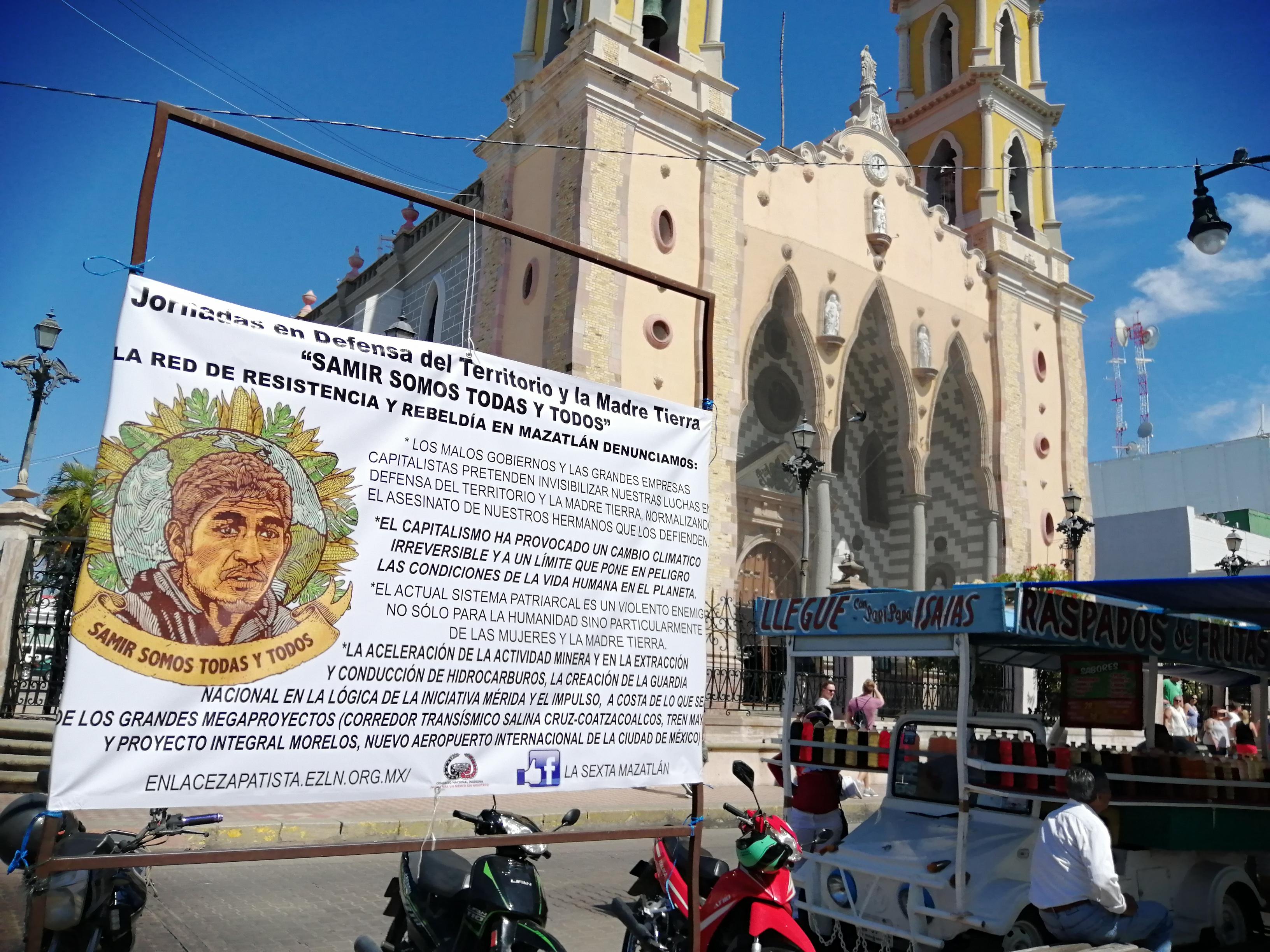 """Galería de fotos de acción dislocada en Mazatlán, Sinaloa. Jornadas """"Samir Somos Todas y Todos"""""""