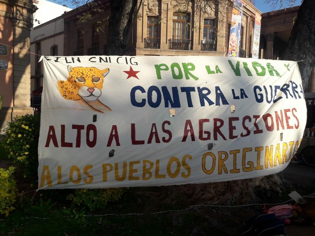 """Galería de fotos de acción dislocada en San Luis Potosí. Jornadas """"Samir Somos Todas y Todos"""""""