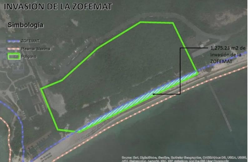 RIU se robó playa: Hotel Riviera Cancún se apropió de duna costera y la incluyó en su proyecto