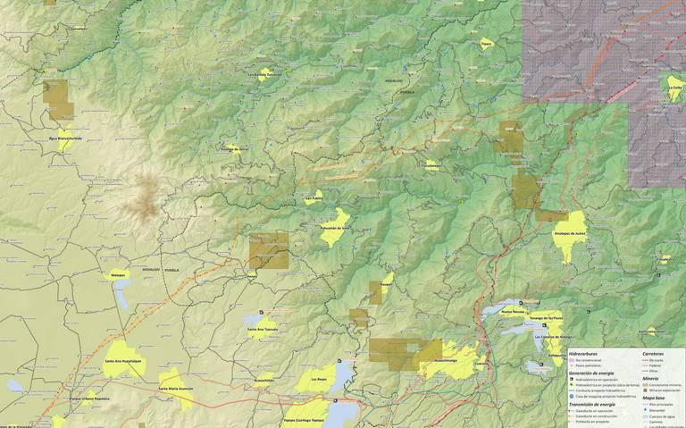 En riesgo bosque de encino en Honey; Minera pide cambio de uso de suelo (Puebla)
