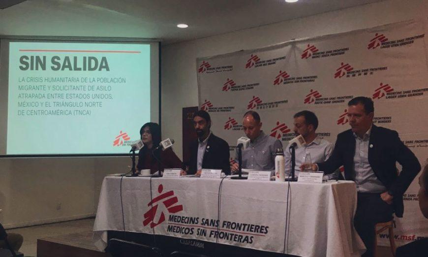 """MSF: """"Quédate en México"""" pone a migrantes en bandeja de plata para el crimen organizado"""