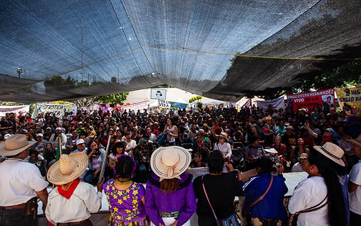 Congreso Nacional Indígena delinea estrategia contra megaproyectos