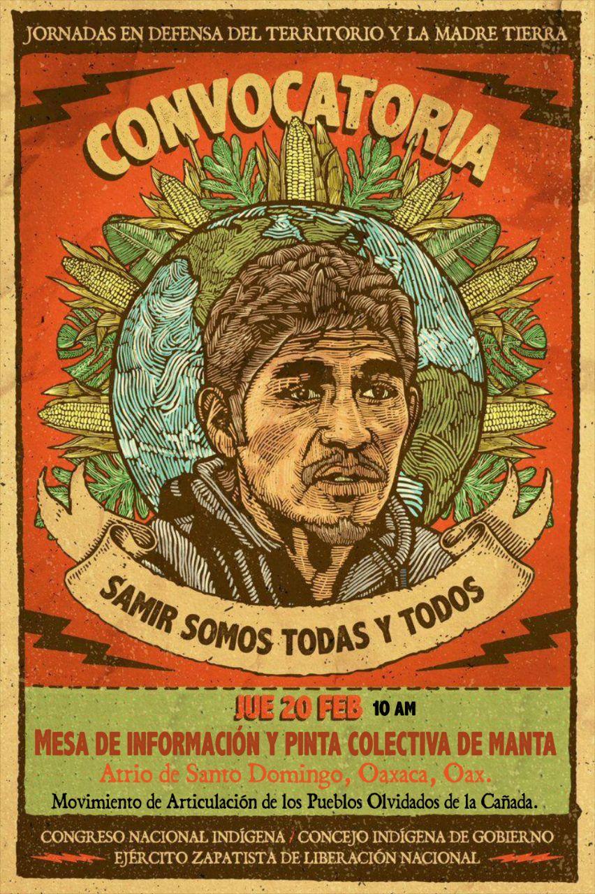 Pueblos y colectivos de Oaxaca se suman a Jornada en Defensa del Territorio y la Madre Tierra (Video)