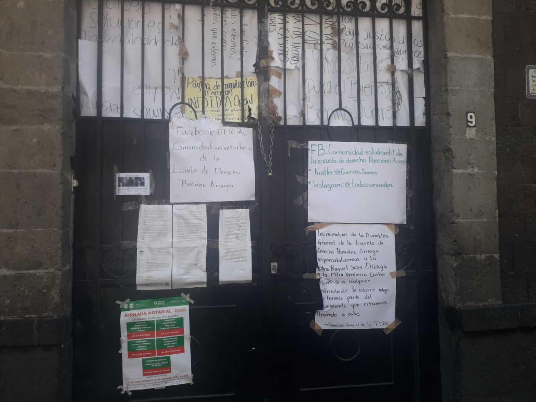 Un plantel en huelga exhibe la incertidumbre en las Universidades del Bienestar (Ciudad de México)