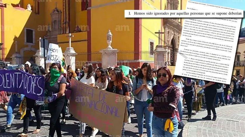 Hemos sido ignorados.- estudiantes de la Universidad de Guanajuato