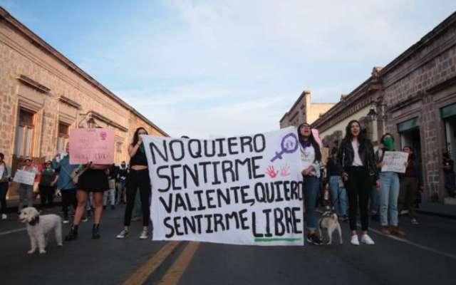 """Marchan en Michoacán por feminicidio de Ingrid """"N"""""""