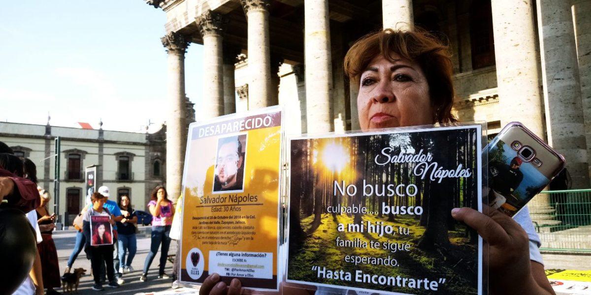 """Familiares de personas desaparecidas en Jalisco convocan a rueda de prensa """"por una búsqueda e identificación digna, adecuada y eficaz"""""""