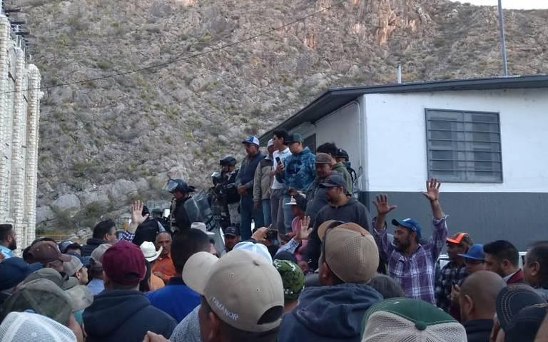 Conato de riña entre productores agrícolas y Guardia Nacional por el agua (Chihuahua)