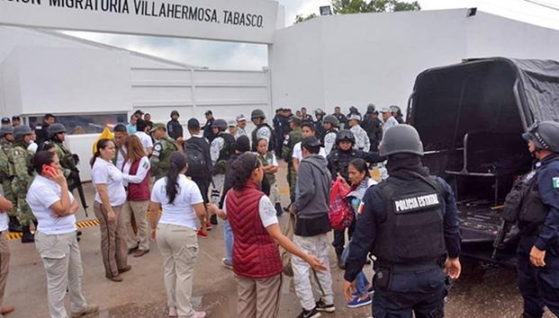 Aplica INM electrochoques a migrantes en Tabasco