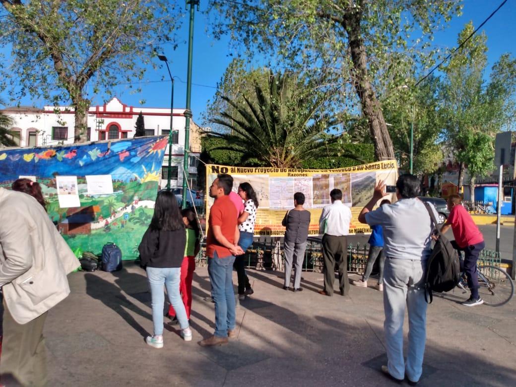 "Dislocada en Zumpango, Estado de México. Jornadas ""Samir Somos Todas y Todos"""
