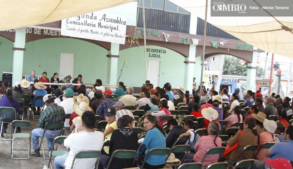 Pobladores tratan de restablecer radio comunitaria en Zacatepec (Puebla)