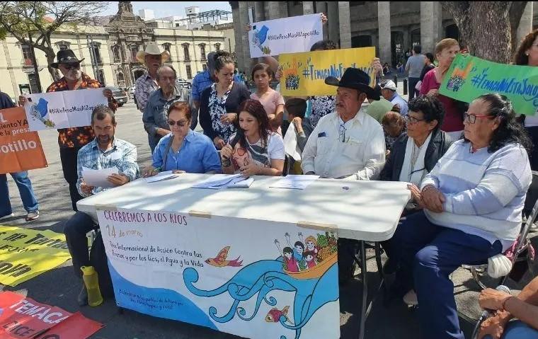 Temaca denuncia avances en Presa El Zapotillo (Jalisco)