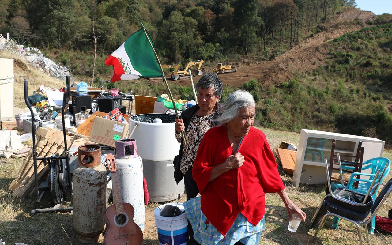 Comunidad de Xochicuautla logra detener carretera impulsada por Peña Nieto (Estado de México)