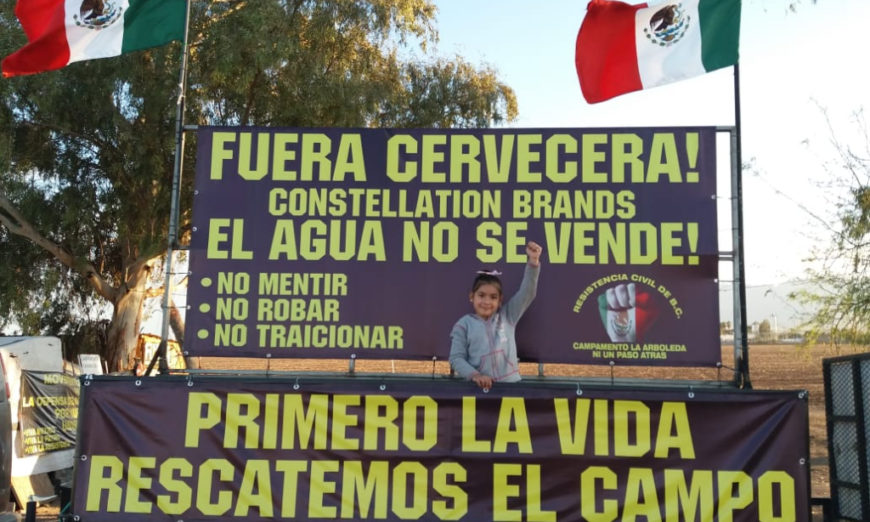Presentan queja ante CNDH por consulta sobre planta cervecera en Baja California