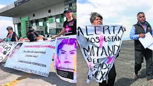 Familiares de víctimas de feminicidios buscan costear memoriales para que sigan en Edomex
