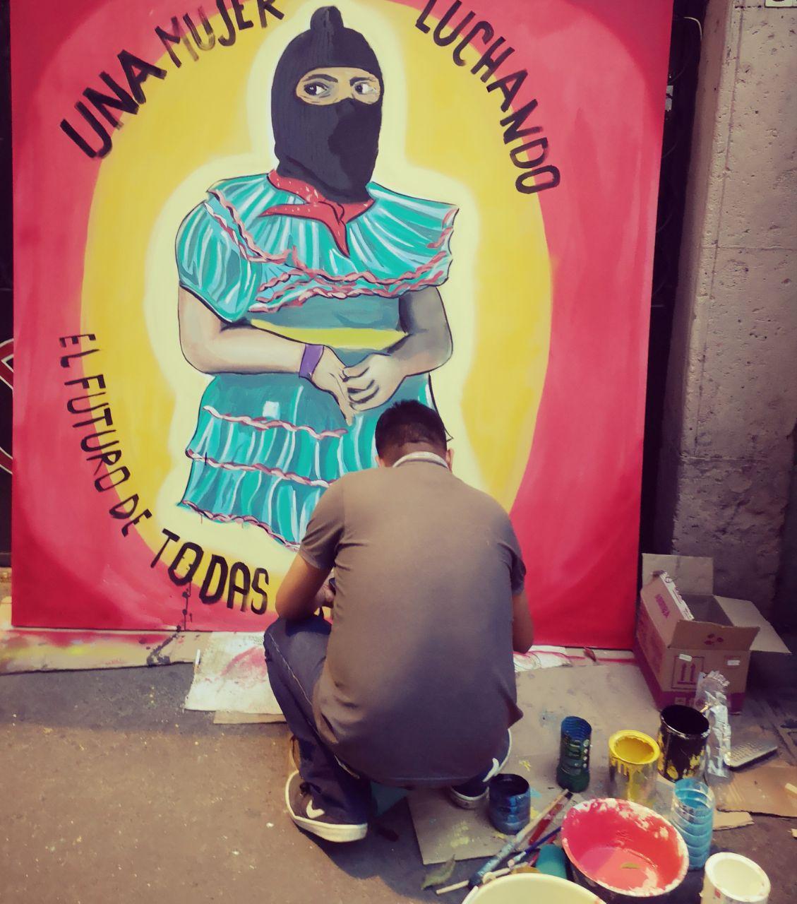 Diálogo de ritmos, palabras y colores en el marco de las jornadas Samir somos todas y todos