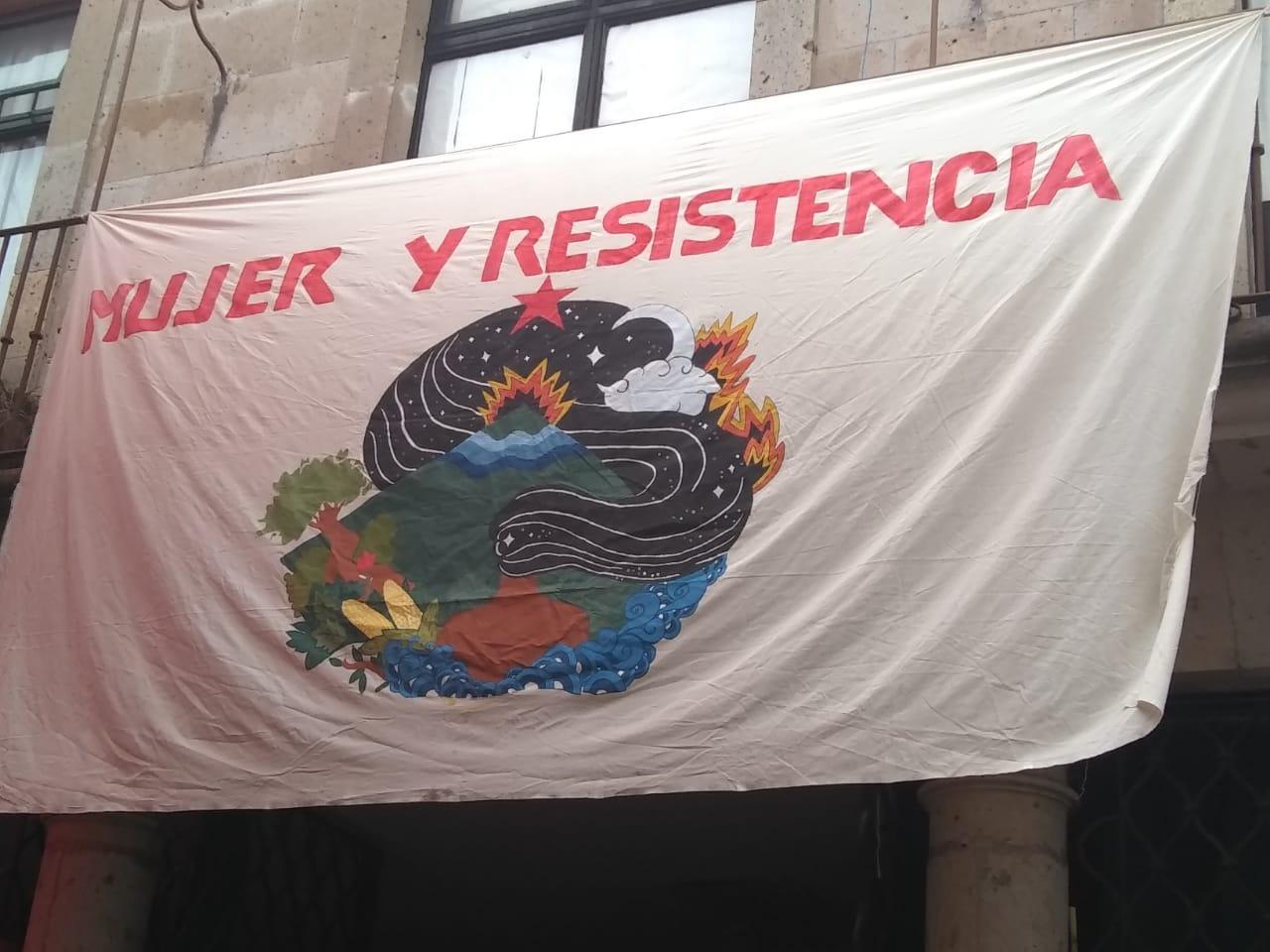 Galería de fotos del Día Internacional de la Mujer en Morelia, Michoacán