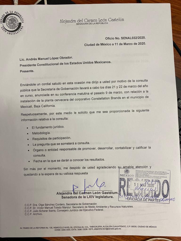 Colectivos en defensa del agua se amparan contra consulta de AMLO en Baja California