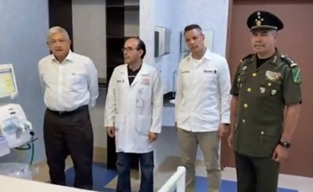 Por coronavirus, AMLO entregará control de 10 hospitales al Ejército