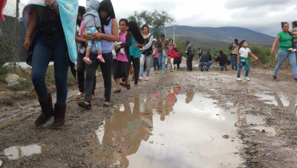 CEAV retira recursos económicos a desplazados de Guerrero