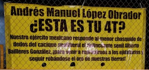 Ejidatarios denuncian protección de la GN a Baillères en Mina Dipolos (Video) (Coahuila)