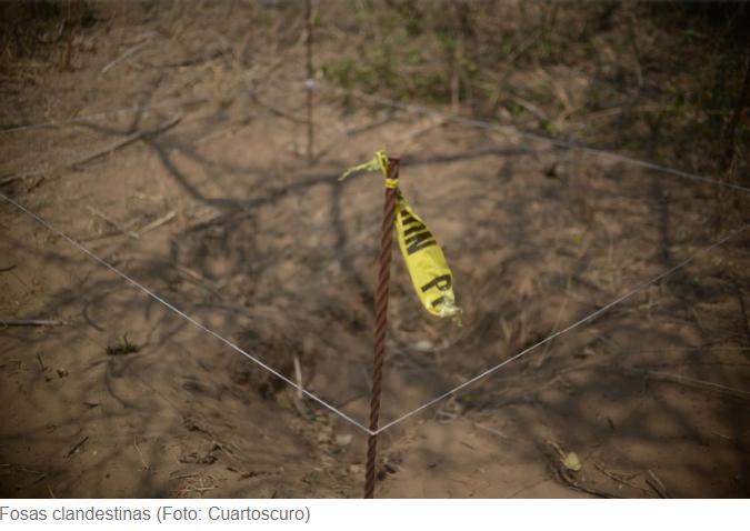 Hallaron cuatro fosas clandestinas en la narcofrontera de Tamaulipas