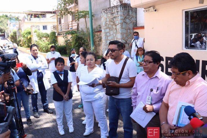Hospital Civil en terapia intensiva: carece de medicamentos, insumos y equipo para enfrentar coronavirus (Oaxaca)