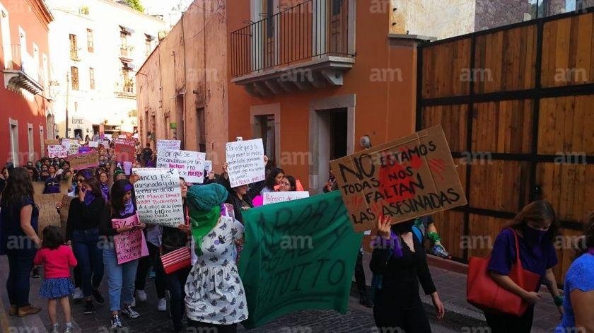 '¡Alerta de género, ya!', exigen mujeres desde Guanajuato capital