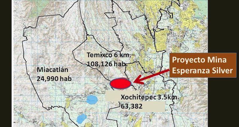 Temixco, se suma, dice NO a concesión de minera canadiense (Morelos)