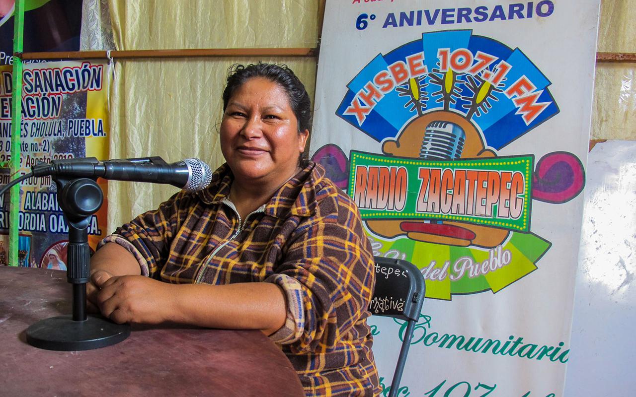 Comunidades nahuas defienden Radio Zacatepec (Puebla)