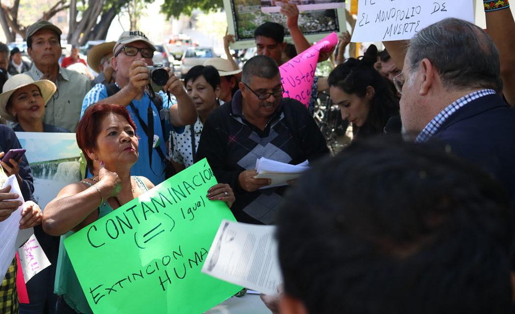 """""""Nuestros jóvenes están muriendo """": reclaman pobladores del Río Santiago a autoridades de salud en Jalisco"""