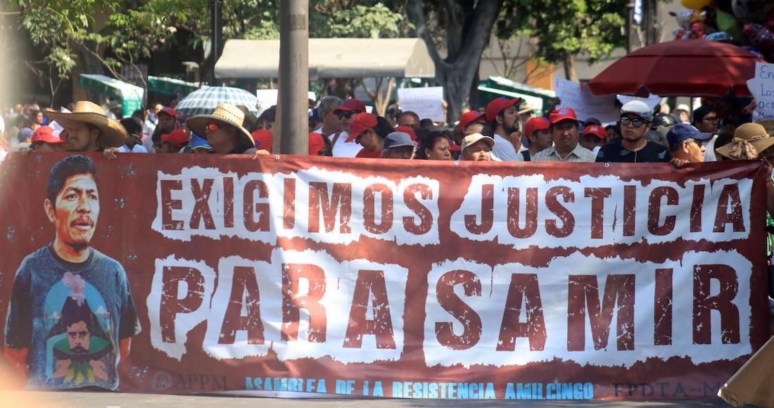 """""""En la defensa de Morelos, aquí moriremos"""": Samir en 2012. Un año de su asesinato y no hay avances"""