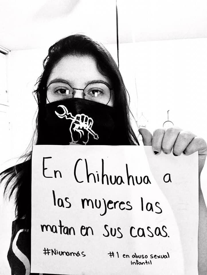 """""""Las mujeres y niñas de Chihuahua no mueren de coronavirus, las matan en sus casas"""", denuncian feministas"""