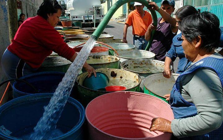 Alcaldías de la CDMX sin agua potable en plena pandemia Covid-19