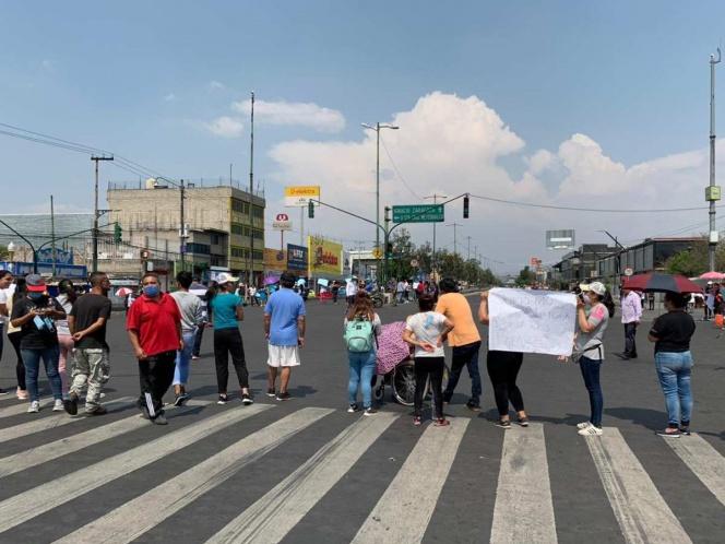 Bloquean Ermita por falta de agua desde hace tres meses (Ciudad de México)