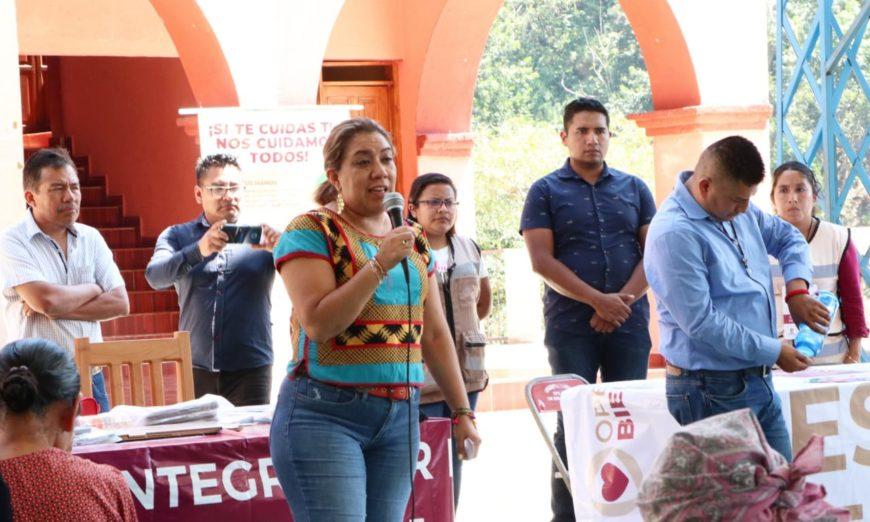 Reclaman a delegada para el desarrollo de Oaxaca por realizar eventos masivos en plena pandemia