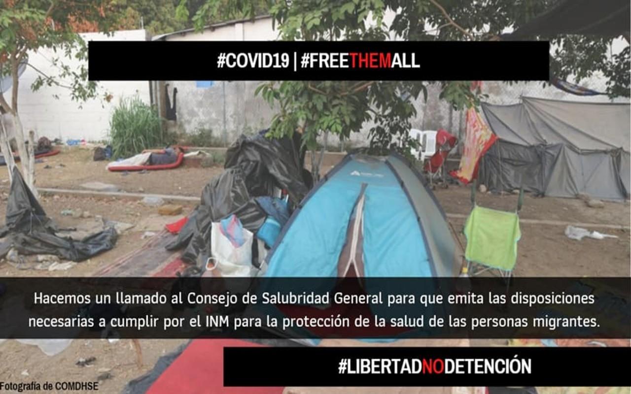 Migrantes están en riesgo en frontera de Tamaulipas