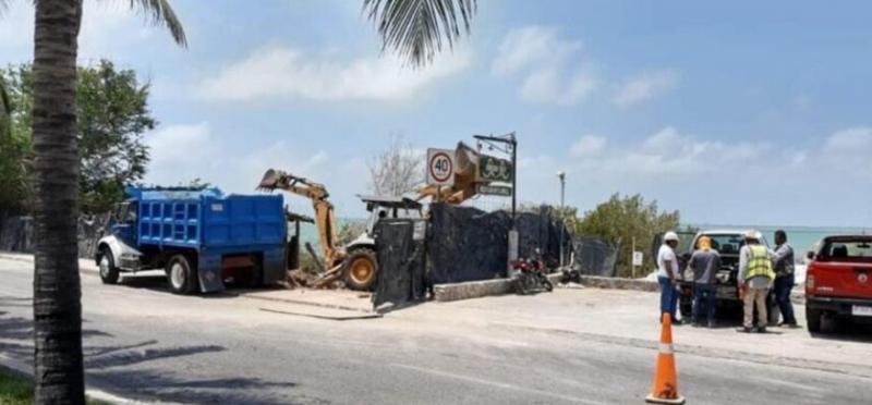 Ambientalistas presentan denuncia ante Profepa por tala de manglar en la laguna Nichupté  (Quintana Roo)