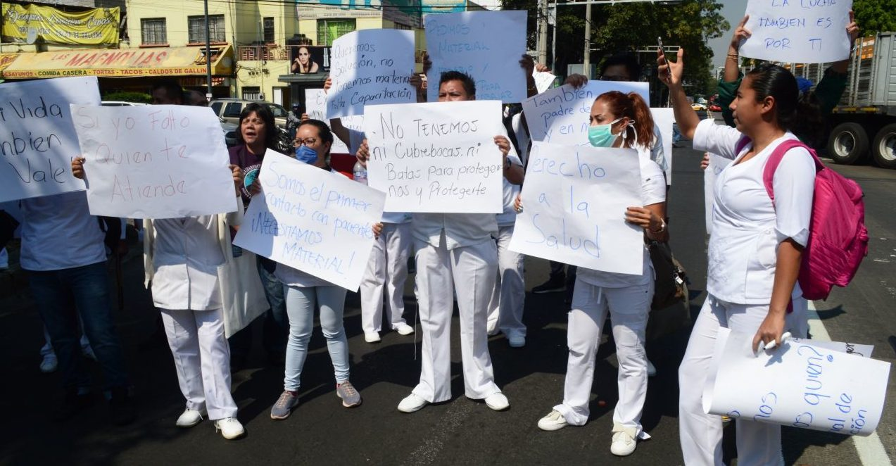 No hay personal ni equipo y los pacientes están muriendo: médicos del Hospital MacGregor del IMSS (Ciudad de México)