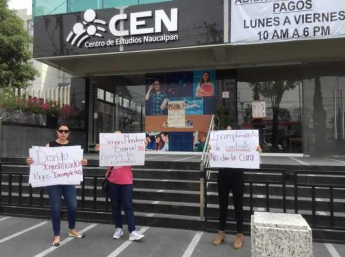 PROFESORES DEL CEN DE NAUCALPAN DENUNCIAN DESPIDOS INJUSTIFICADOS (Estado de México)